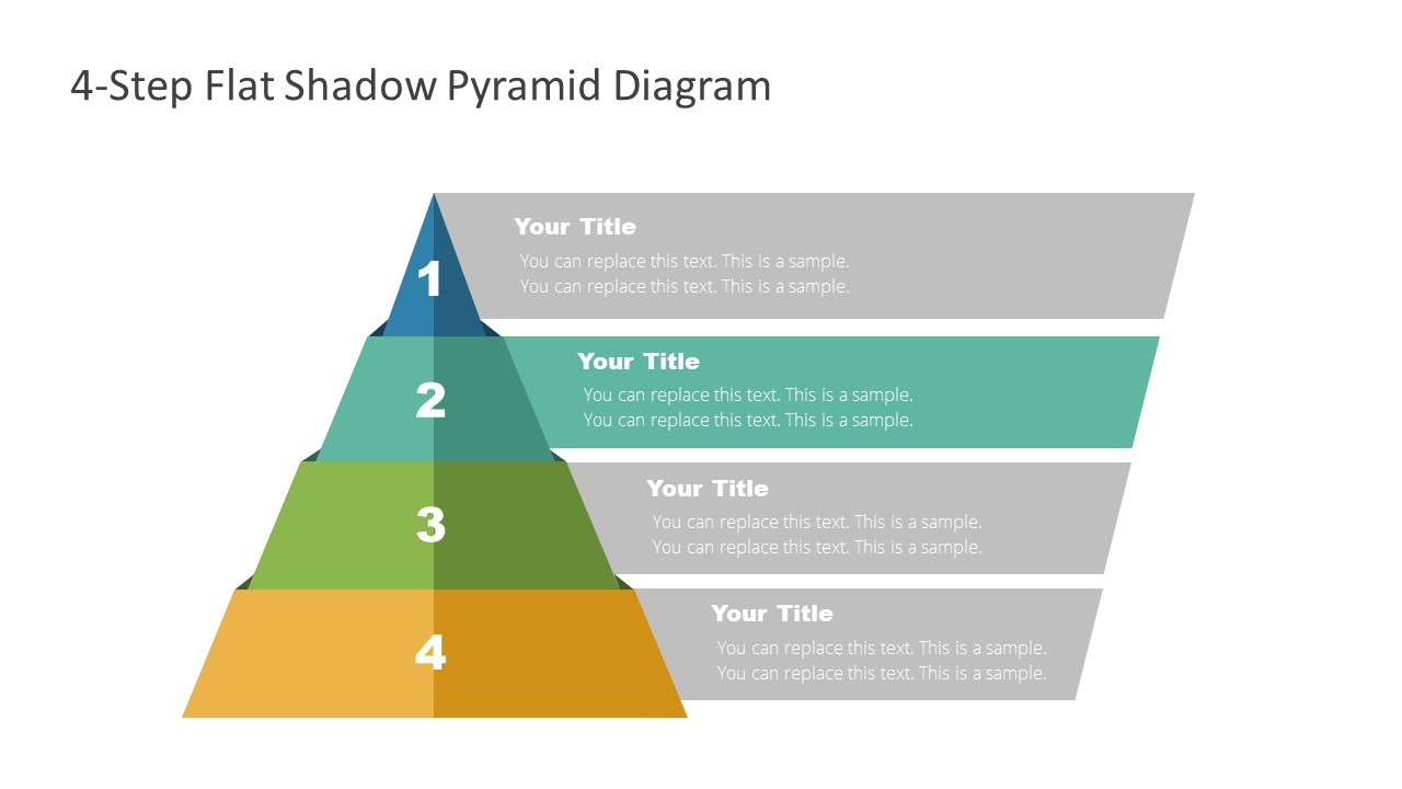 4 Steps Level 2 Pyramid Template