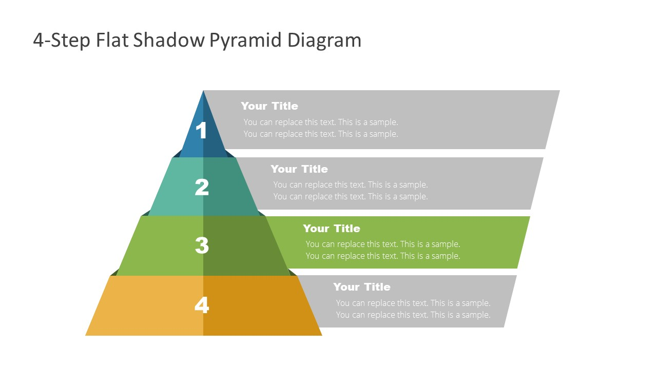 4 Steps Level 3 Pyramid Template