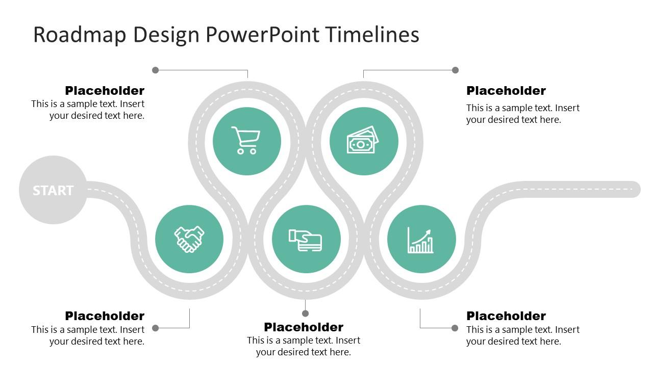 5 Milestones Roadmap Template