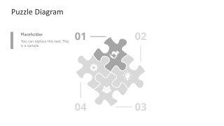 PowerPoint Puzzle Step 1 Diagram