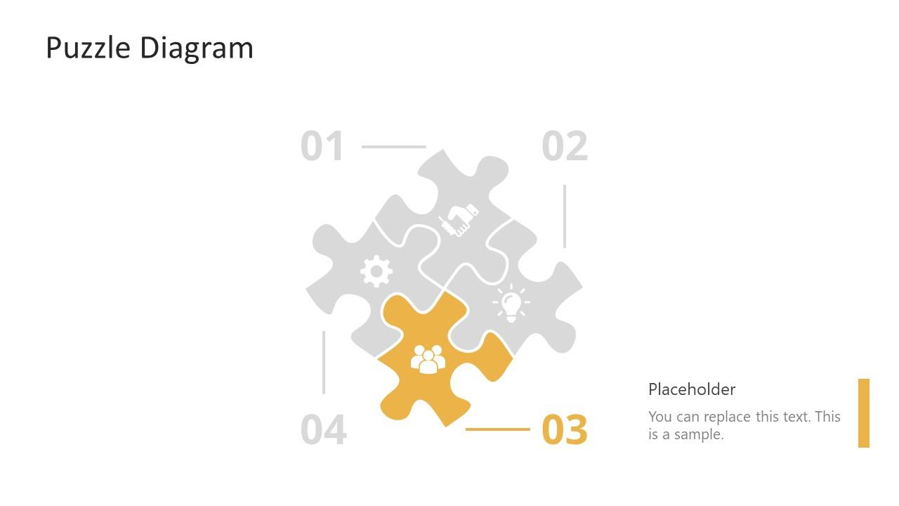 PowerPoint Puzzle Step 3 Diagram