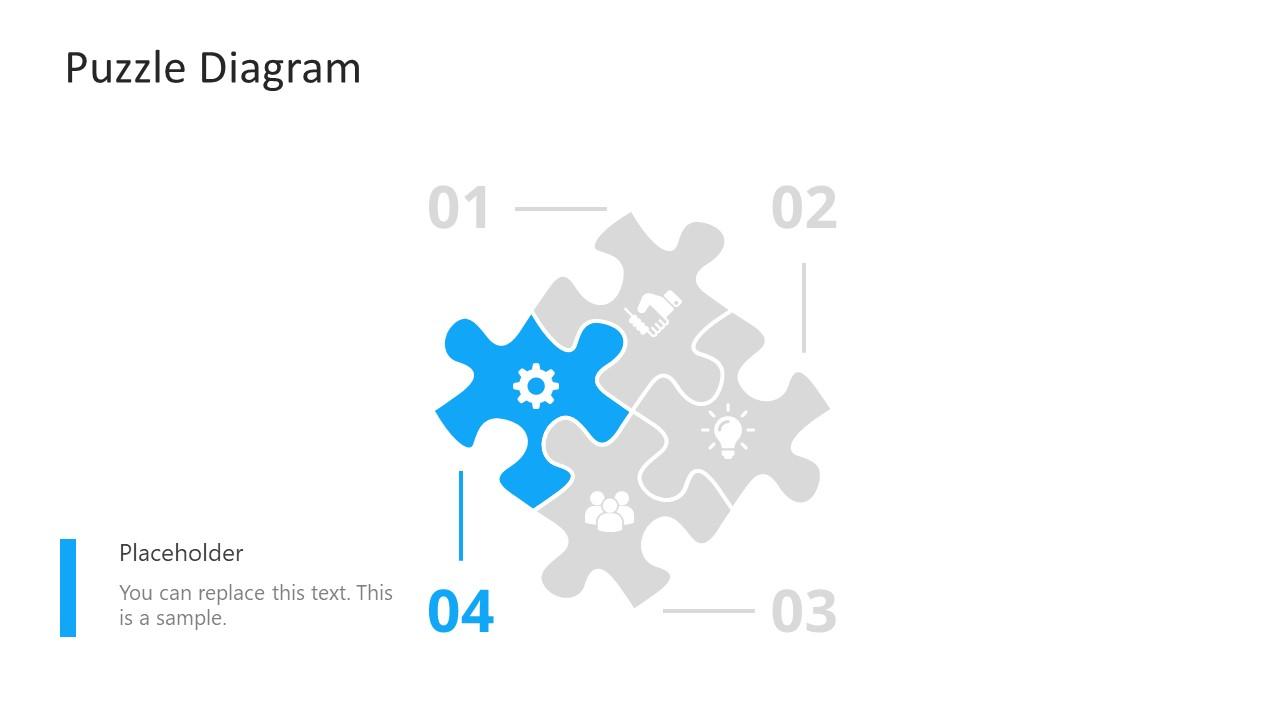 PowerPoint Puzzle Step 4 Diagram