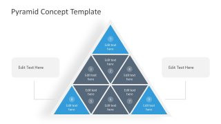 3 Leve Pyramid of Triangles PPT