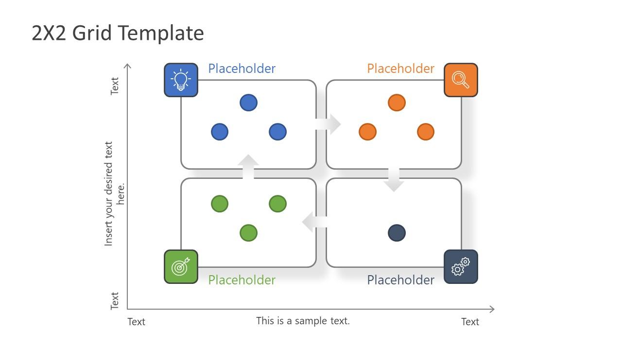 Free Slides of Simple 2x2 Matrix PPT