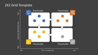 PowerPoint Matrix Template Design