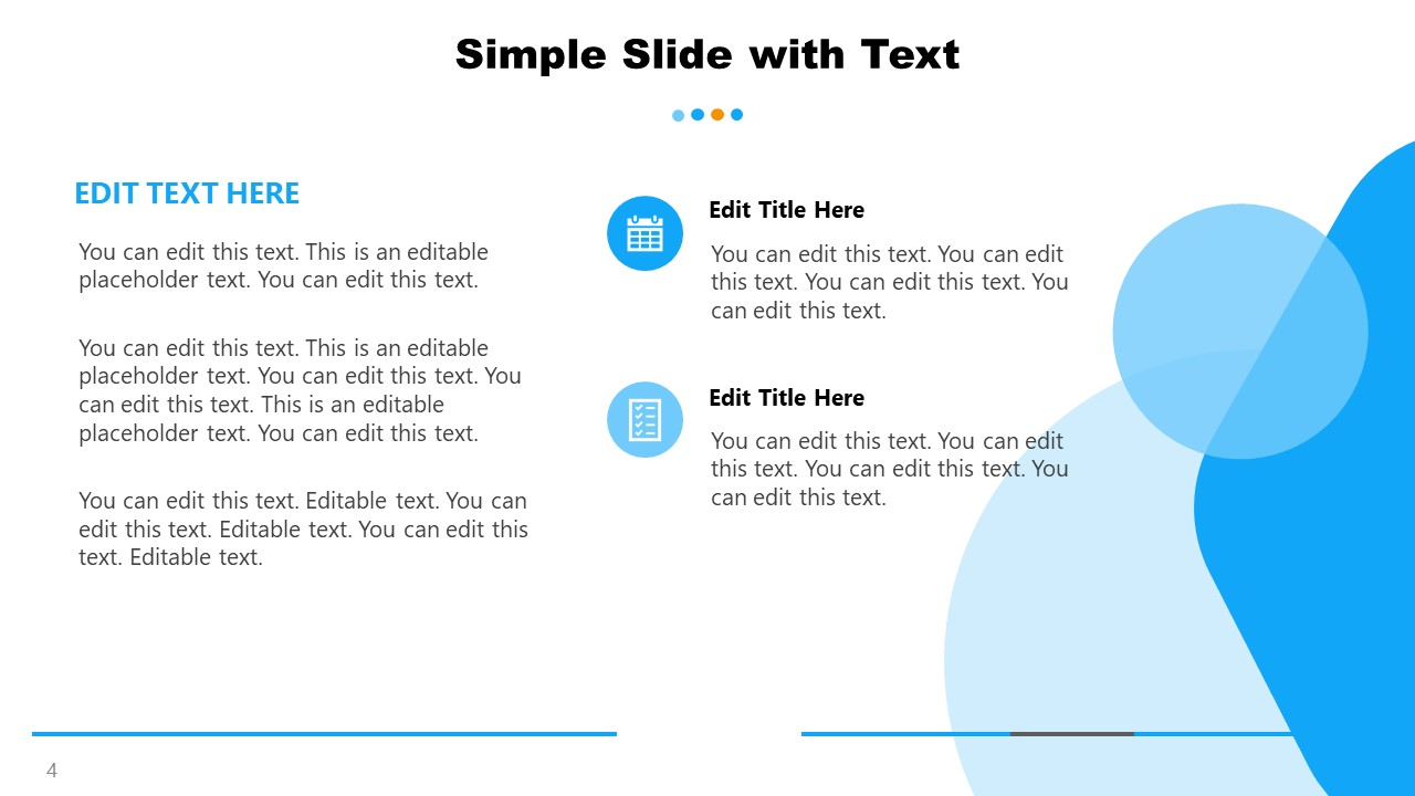 2 Content Template for General Purpose PowerPoint