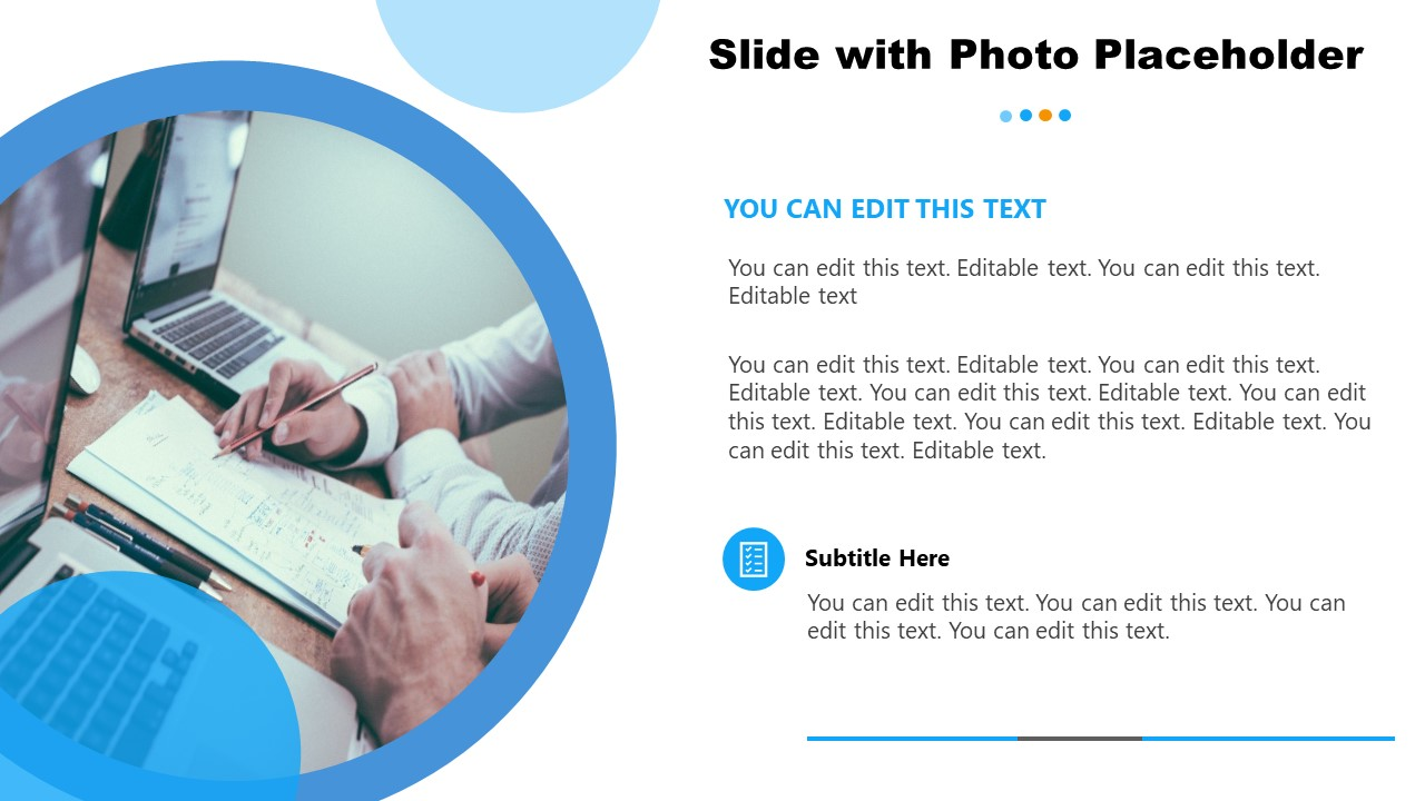 Cutout Image Template for General Purpose PowerPoint