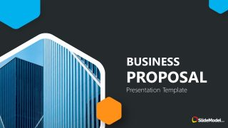 Business Proposal Free Template Cover