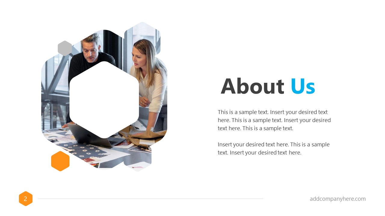 Business Proposal Free Template About Us