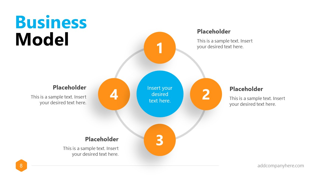 Business Proposal Free Template 4 Steps Model