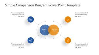 Presentation PowerPoint Simple Comparison