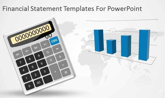 financial statement templates for powerpoint presentations, Modern powerpoint