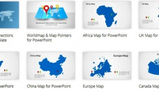 Using Maps in PowerPoint Presentations