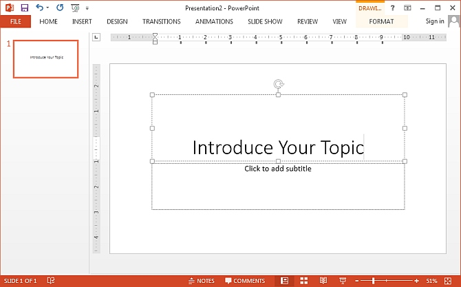 PowerPoint slide