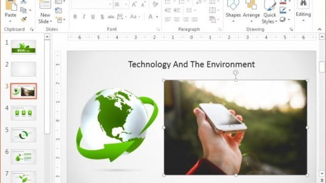 How To Remove Background From Image in PowerPoint 2013