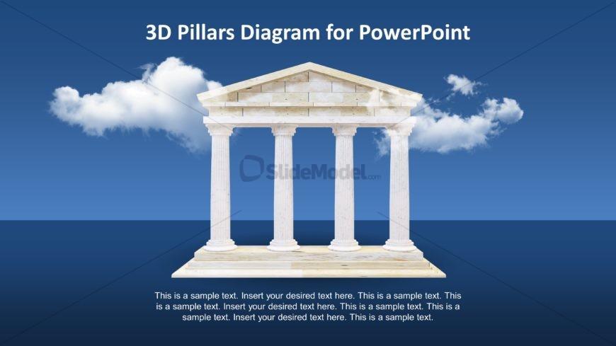 Greek Architecture Design PowerPoint