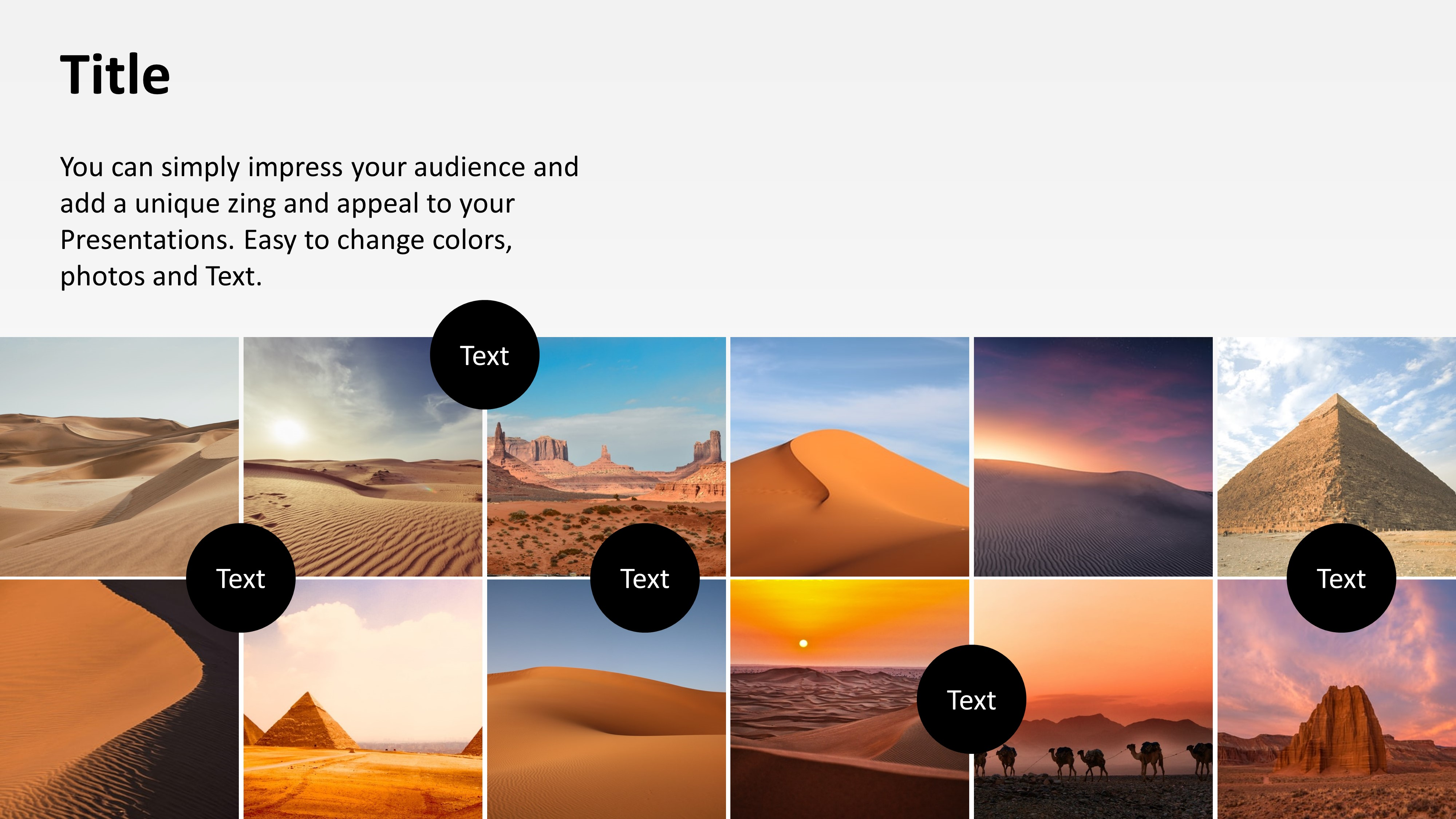 PowerPoint Animated Portfolio Design