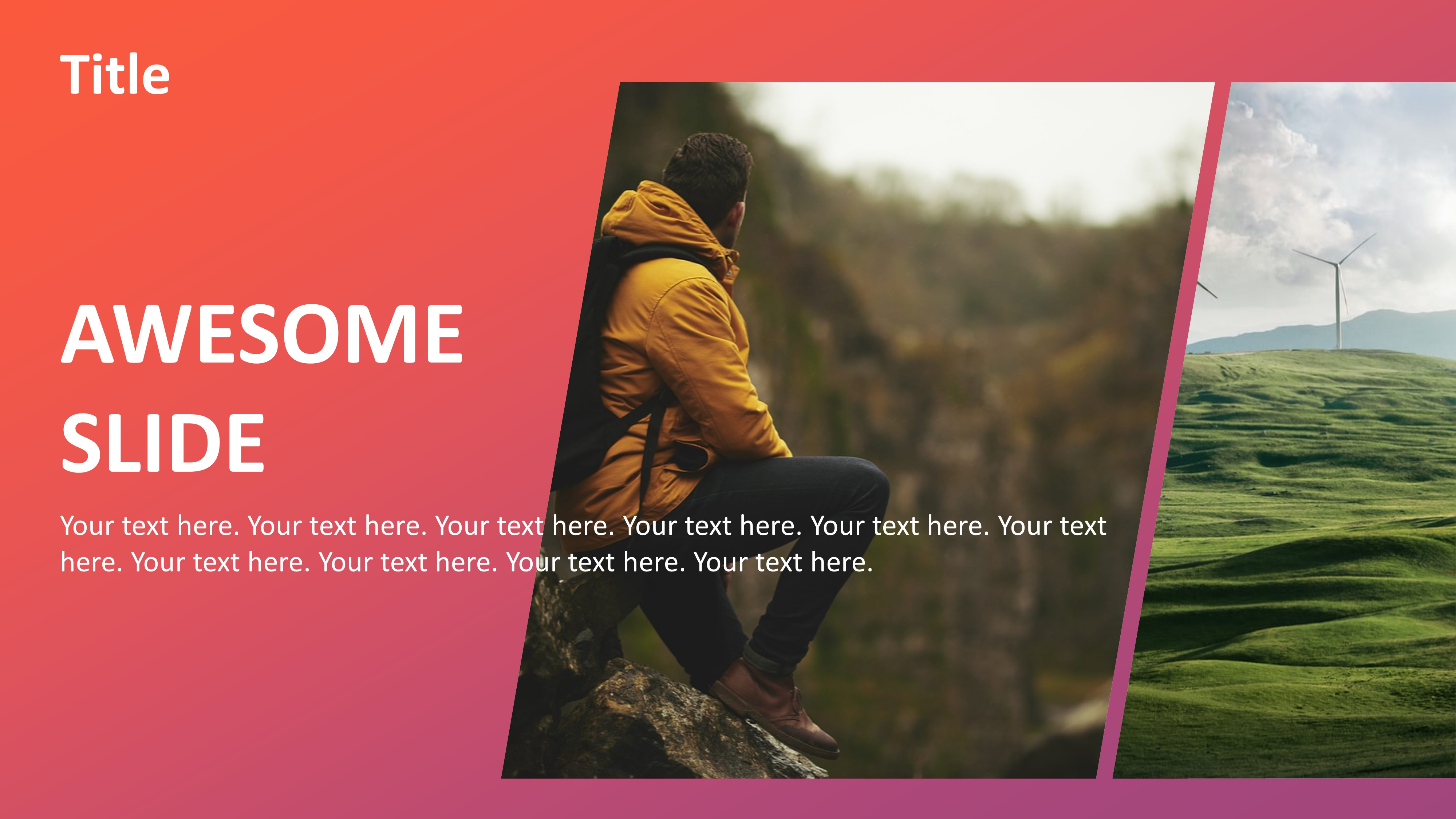 Animated Cutout Slides PowerPoint
