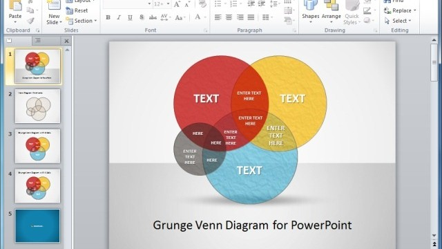 Venn Diagram Ideas For PowerPoint Presentations