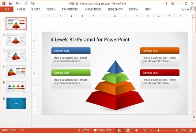 Widescreen slide orientation in PowerPoint 2013