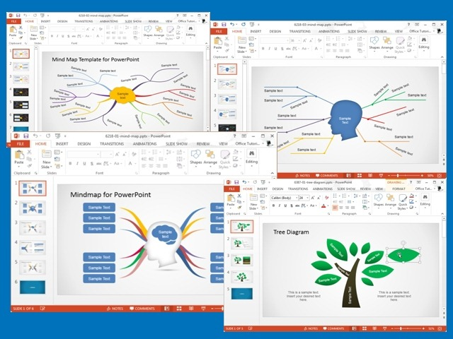 best concept map templates for powerpoint