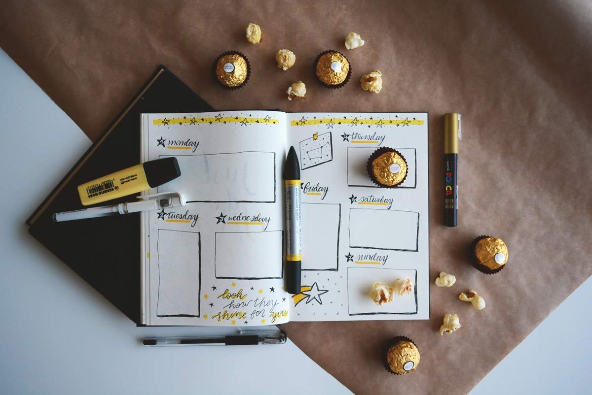 Bullet Journal Notebook Image