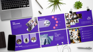 Caesar PowerPoint Template for Business Presentations