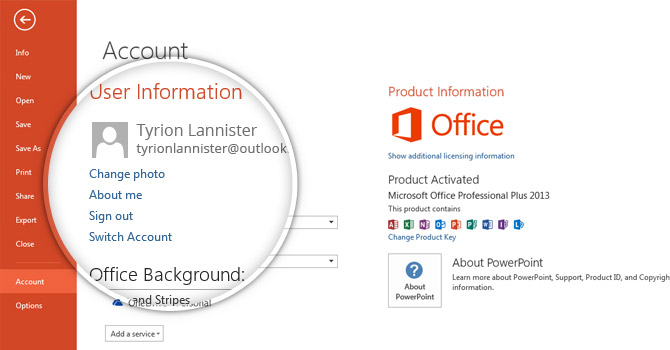 how to change author name in powerpoint 2013 slidemodel