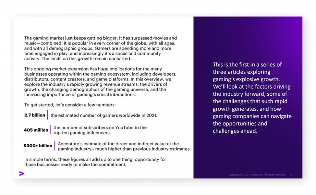 Executive Summary Slide Presentation