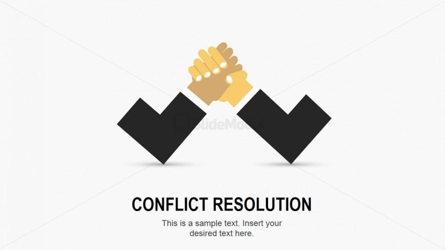 Flat Hands Conflict Resolution Slide