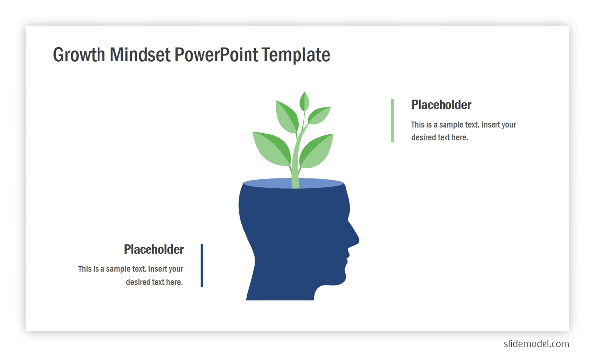 Growth Mindset PowerPoint template