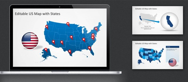 How to Use our Editable Map Templates in PowerPoint