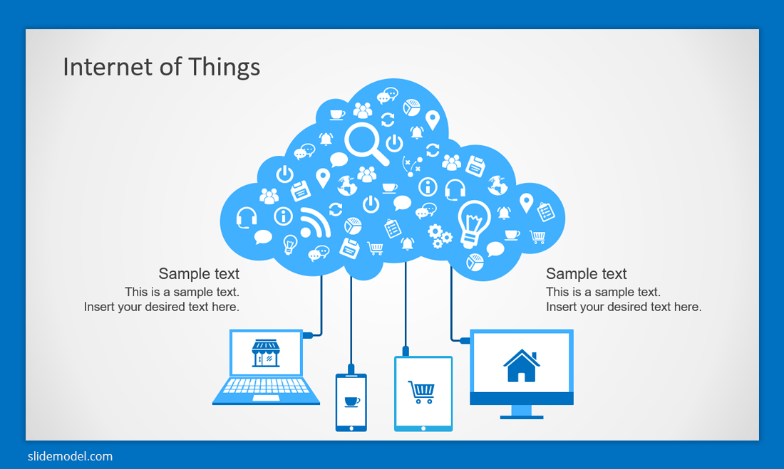 Internet of Things PowerPoint template (IoT)
