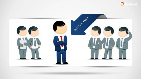 Leadership Illustration for PowerPoint Presentations
