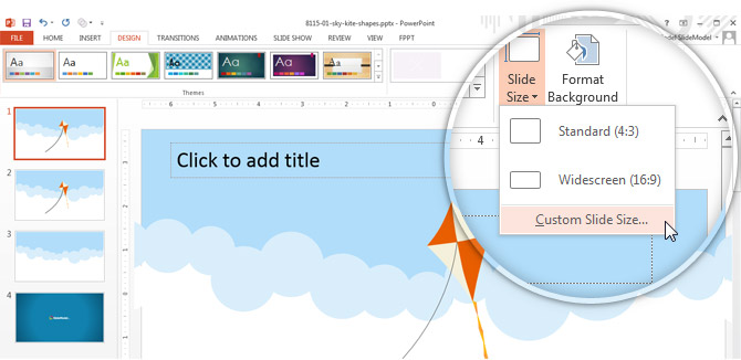 How To Change Page Orientation In Powerpoint 2013 Slidemodel