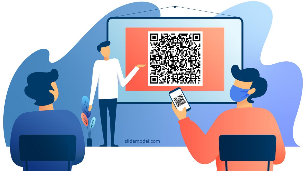 Presentation with QR Code