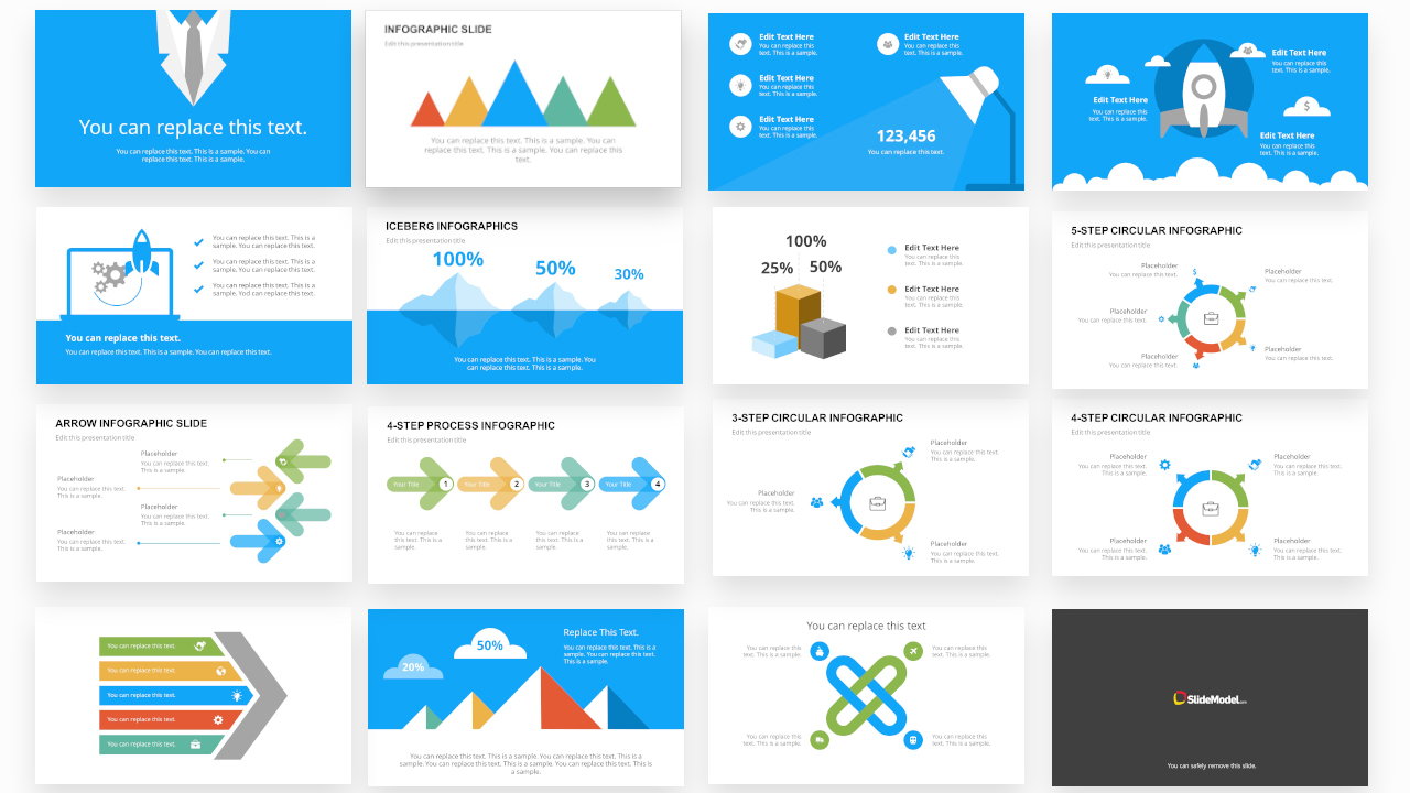 PPT Templates of Infographic Bundle