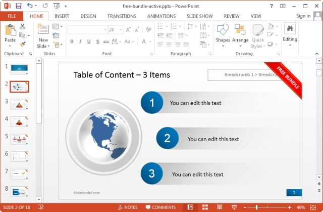 download premium quality powerpoint slide bundle for free, Powerpoint