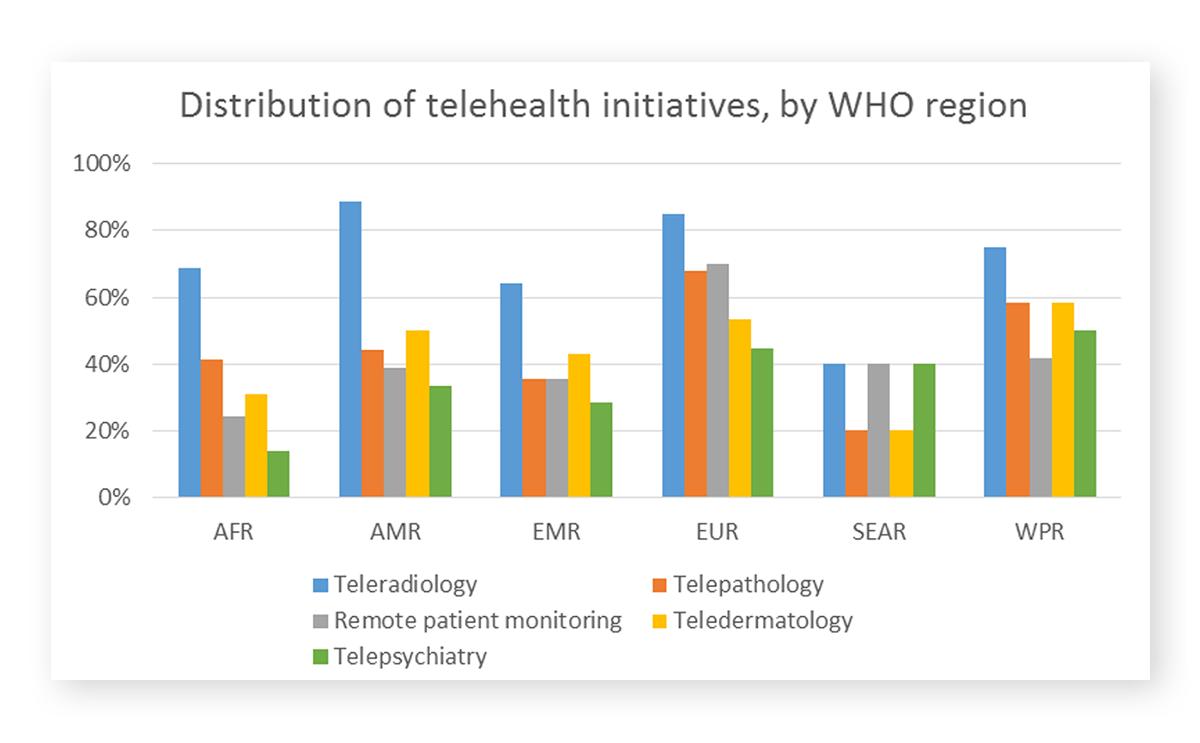 PowerPoint Chart Telehealth Initiatives