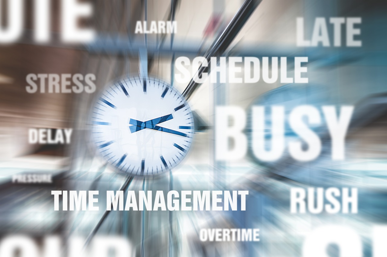 Time Management words