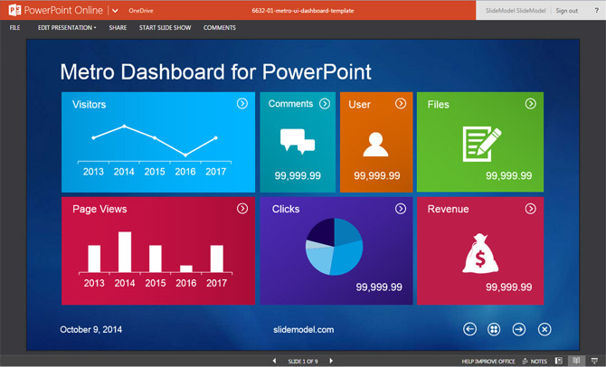 upload powerpoint online one drive 3 slidemodel