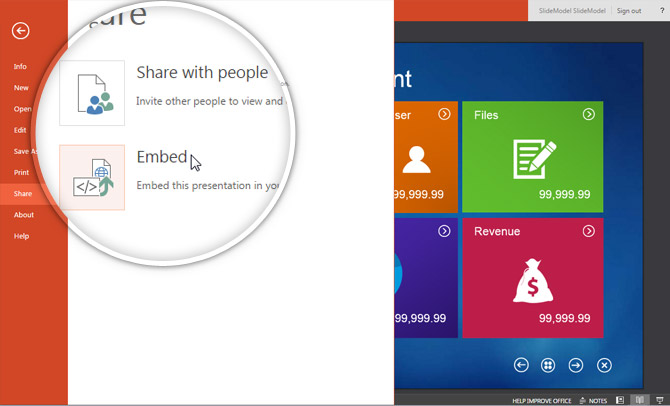 upload powerpoint online one drive 4 embed slidemodel