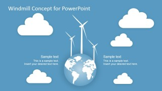 PowerPoint Shapes featuring Eolic Energy
