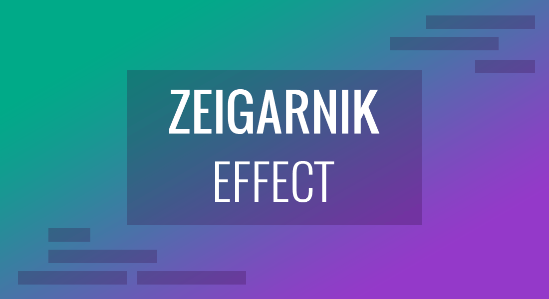 Using the Zeigarnik Effect for Presenting Like a Pro